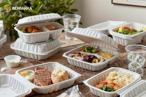 Упаковка для блюд на вынос и ланч-боксы Take Away