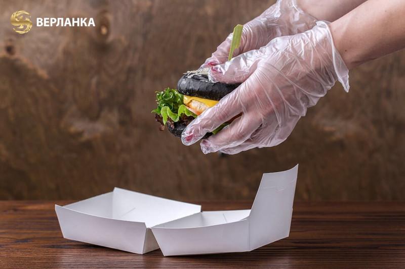 коробки для бургеров | эко упаковка для фаст фуда