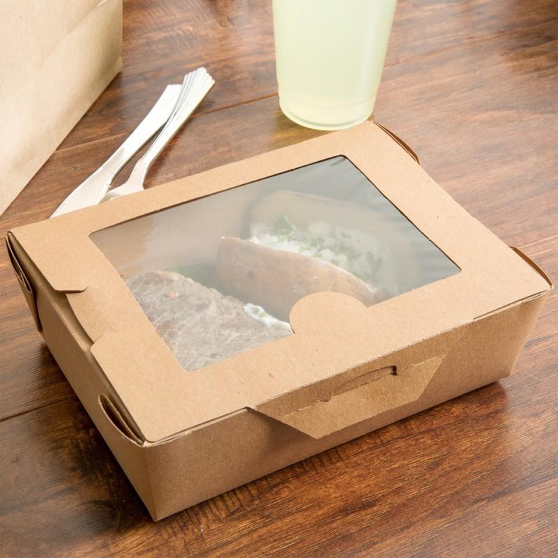 Контейнеры бумажные для салатов