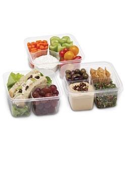 Одноразовые экологичные ланч-боксы для еды на вынос, пищевая упаковка био для салатов
