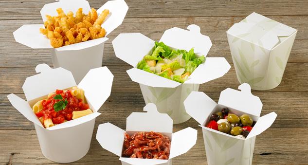 Одноразовые контейнеры для ВОК, пищевая упаковка для ВОК и азитской кухни