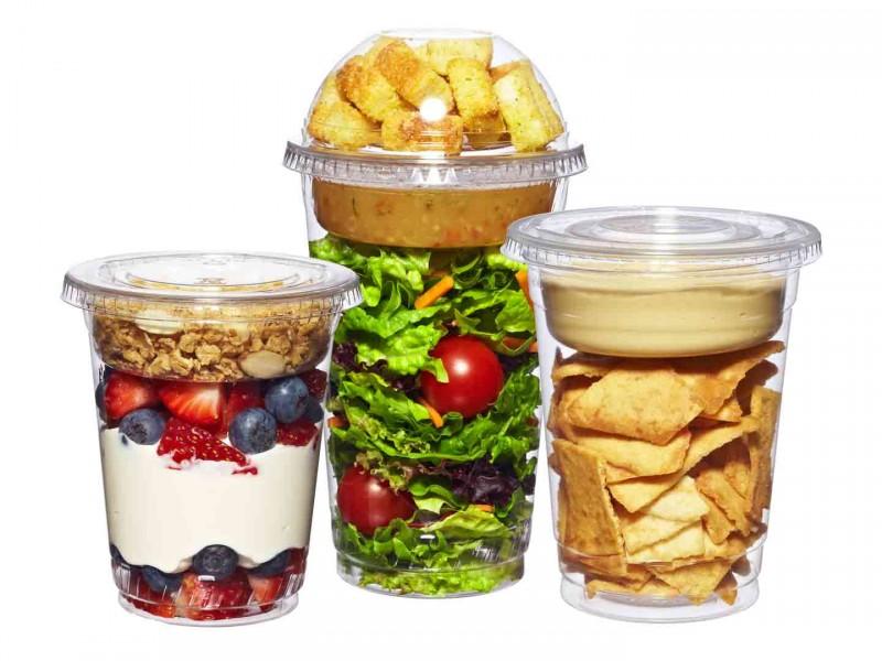 Стаканы для салатов и десертов