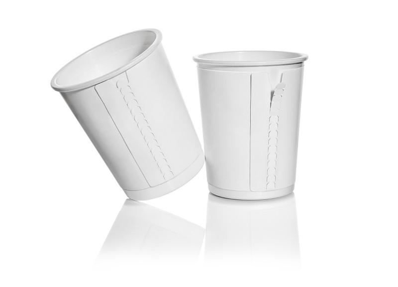 Одноразовые контейнеры с обечайкой для молочной индустрии