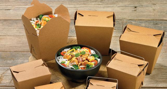 Пищевые крафт контейнеры и Эко упаковка для еды на вынос