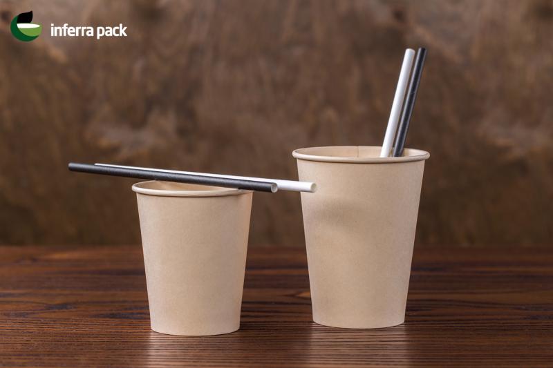 бумажные стаканы для кофе | бумажные трубочки