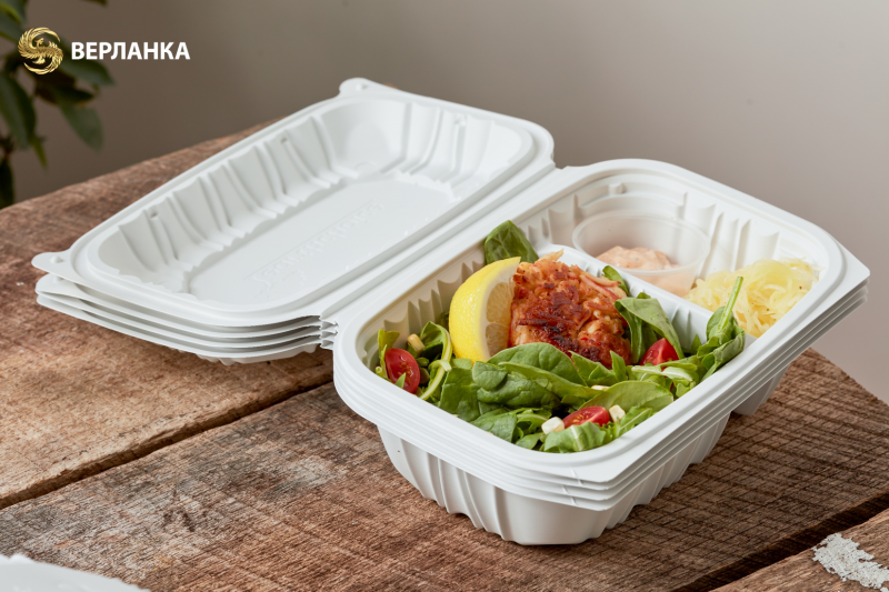 Sustainable take out containers