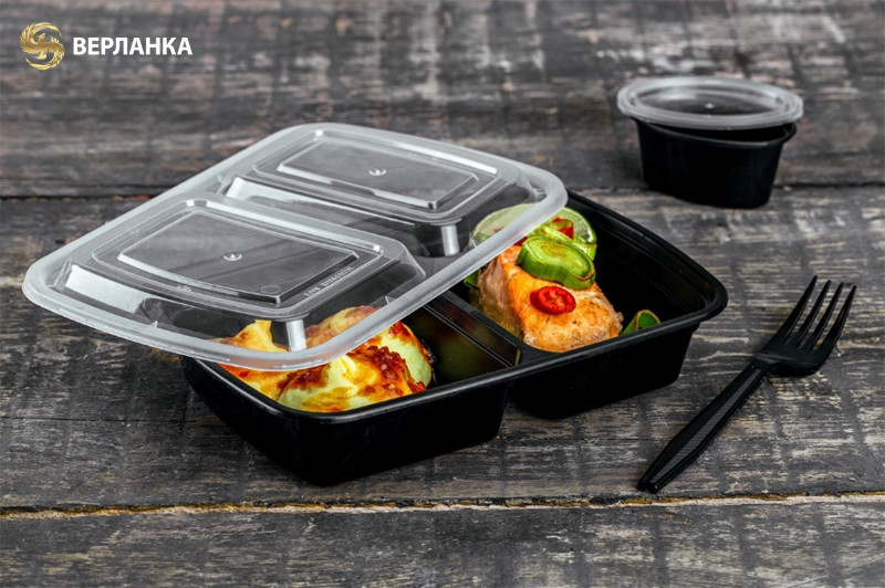 Disposable take out deli containers