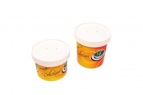 Одноразовые контейнеры для еды из бумаги и пищевая бумажная упаковка на вынос