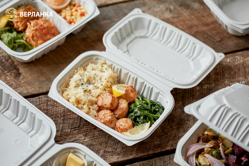 Clamshell food containers To Go