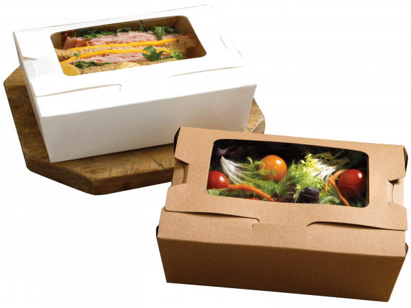 Disposable Eco-friendly food packaging for Take Away and To Go